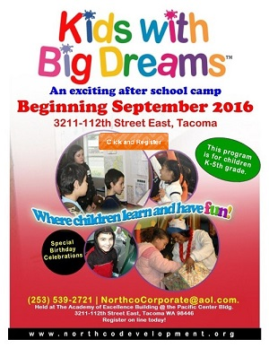 Kids with Big Dreas an exciting after school camp