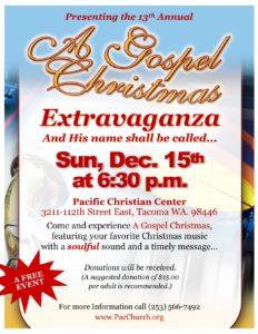 A Gospel Christmas Extravaganza